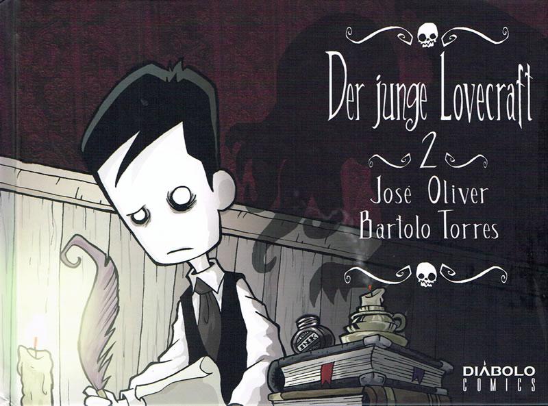 Der junge Lovecraft von Jose Oliver & Bartolo Torres