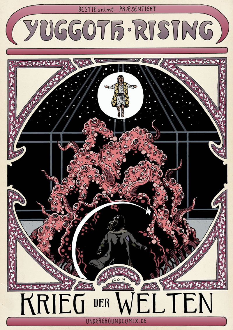 """Yuggoth Rising No.9 - """"Krieg der Welten"""""""