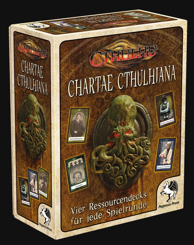 Chartae Cthulhiana (4 Ressourcendecks)
