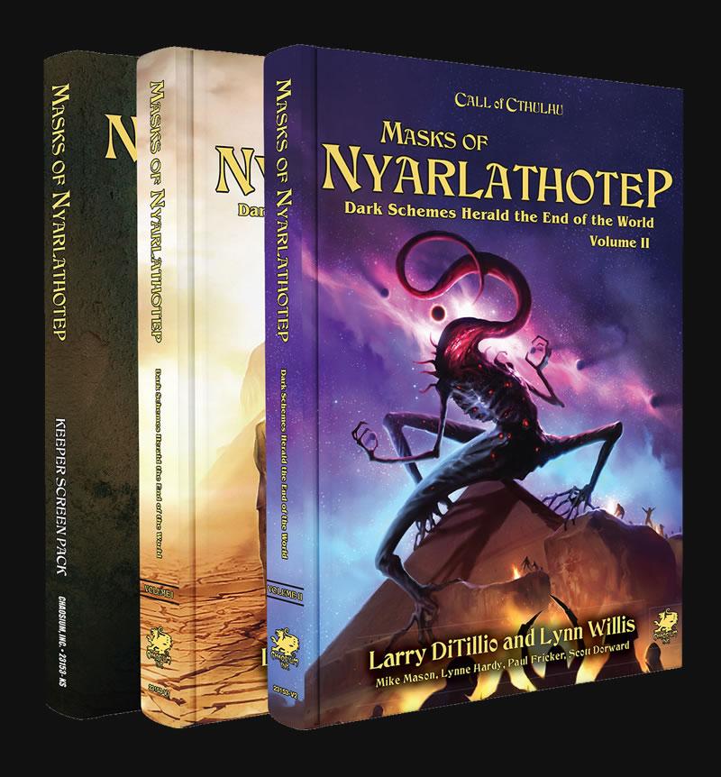 Masks of Nyarlathotep - Slipcase Set (englisch)