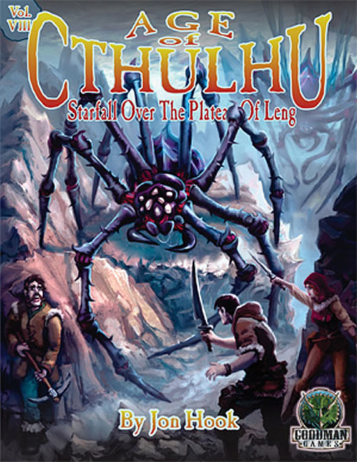 Age of Cthulhu 8: Starfall Over the Plateau of Leng (hardcover / englisch)