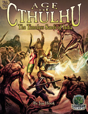 Age of Cthulhu 7: The Timeless Sands of India - Abenteuer (englisch)