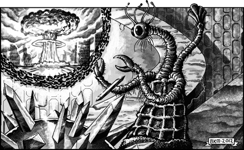 Age of Cthulhu 7: The Timeless Sands of Indian - illustration 2