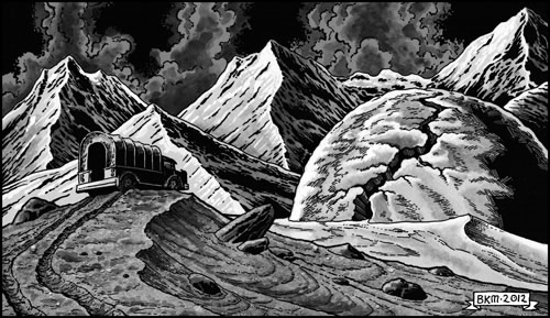 Age of Cthulhu 7: The Timeless Sands of Indian - illustration 3
