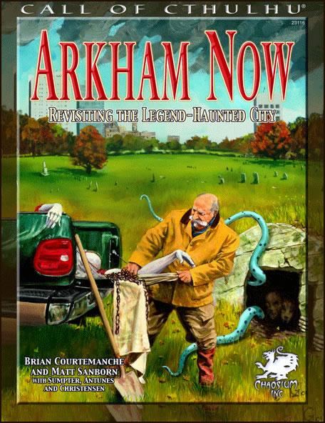 Arkham Now - Zu Besuch in der legendären verfluchten Stadt (englisch)