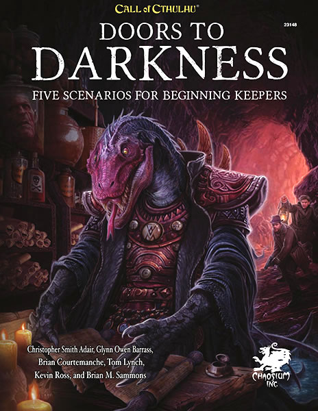 Doors to Darkness (Calll of Cthulhu RPG) - HC