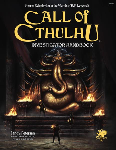 Investigator Handbook (Call of Cthulhu 7th Edition)