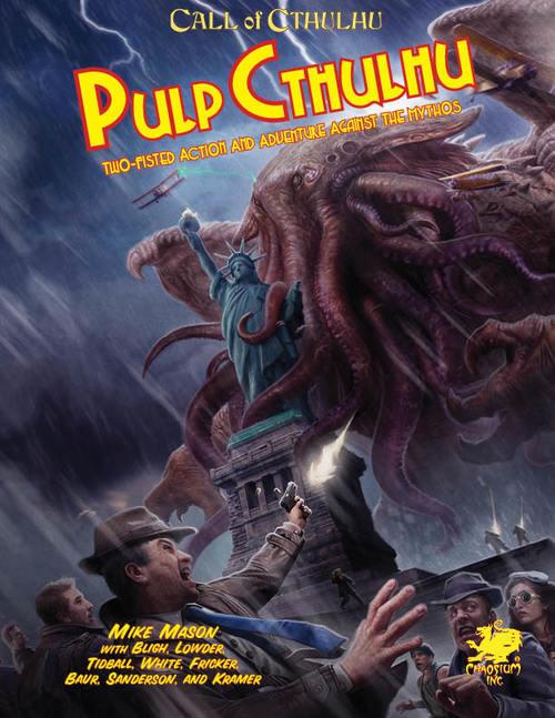 Pulp Cthulhu (Calll of Cthulhu RPG)