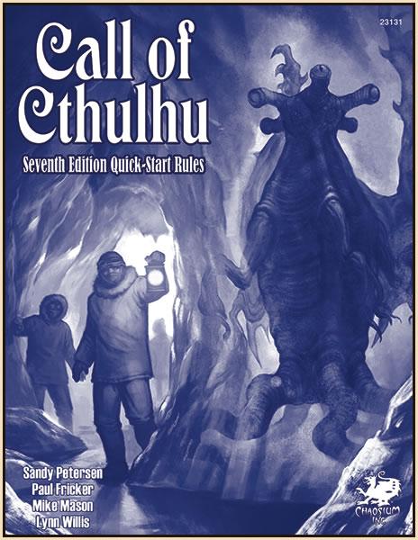 Call of Cthulhu 7th Edition Quick Start - Überblick über die neuen Regeln und 1 Abenteuer