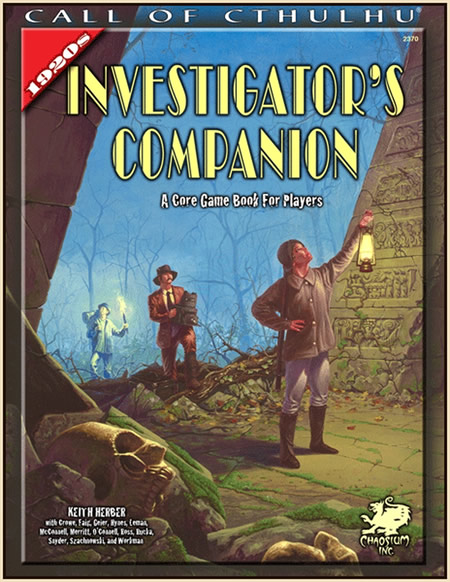 The 1920s Investigator's Companion - A Core Game Book for Players
