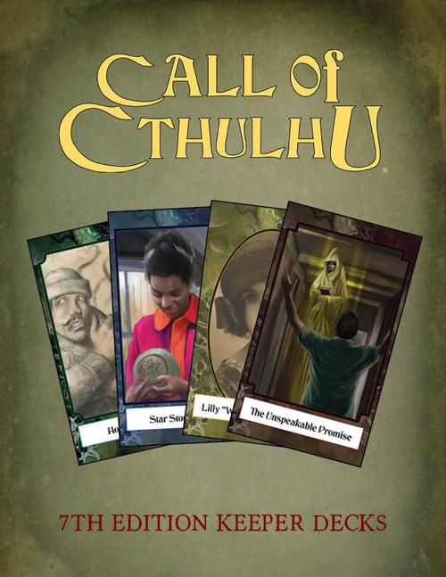 """Spielleiter-Kartensets für das """"Calll of Cthulhu""""-RPG"""