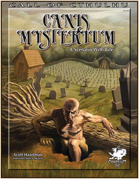 Canis Mysterium - Ein Abenteuerszenario mit Biss (englisch)