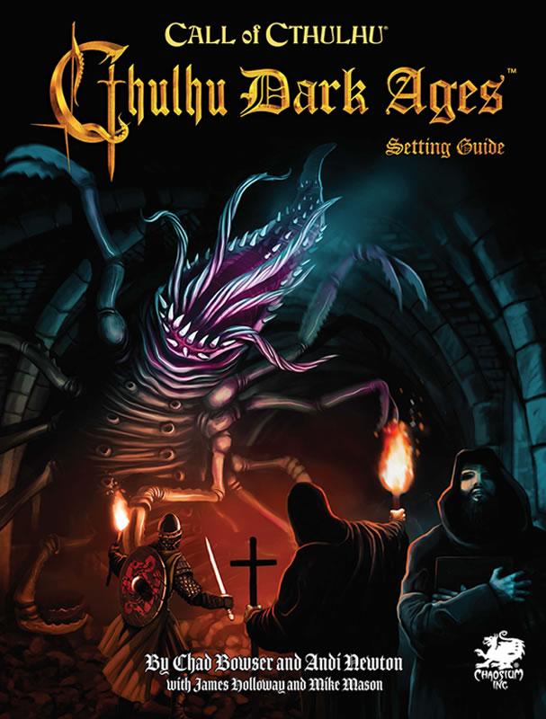 Cthulhu Dark Ages 3rd Edition - Quellen und Abenteuerbuch (englisch)