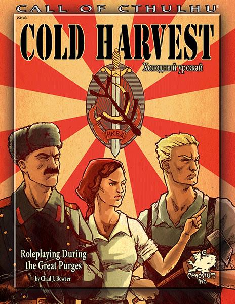 Cold Harvest - Ein Abenteuerszenario während der großen Säuberung in Stalins Russland (englisch)