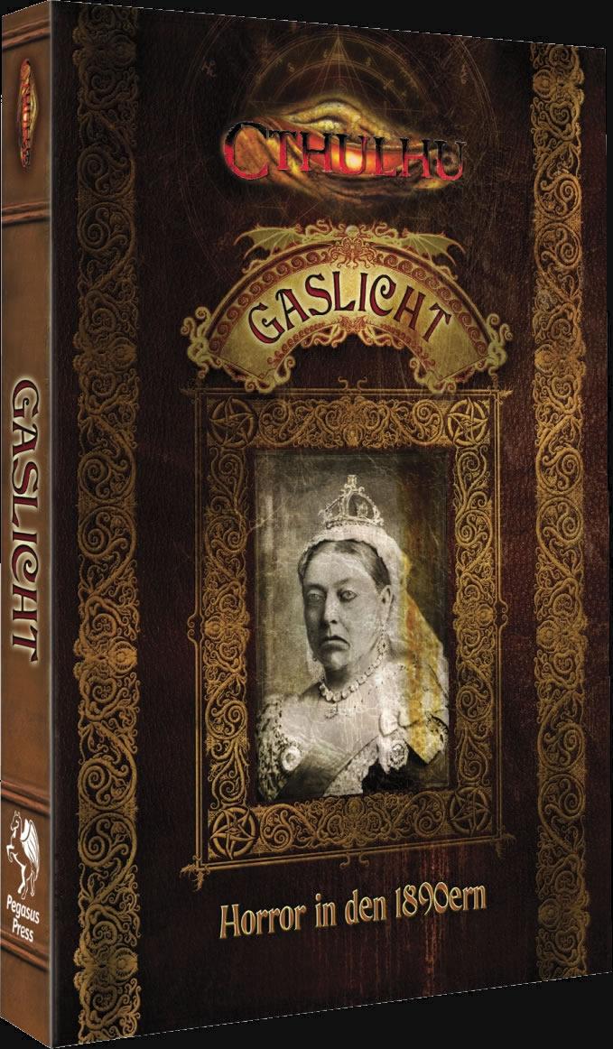 Gaslicht - Cthulhu in den 1890er Jahren - Limitierte Ausgabe (HC)- NEU-MÄNGELEXEMPLAR - Sammlerstück
