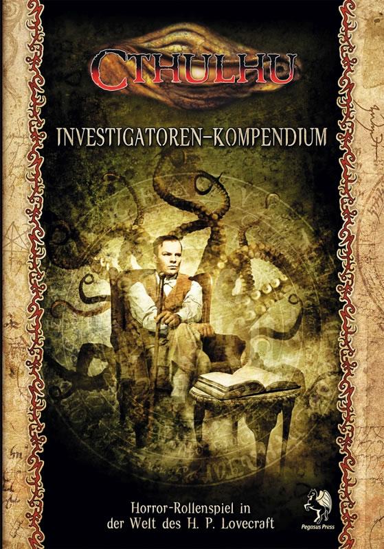 Cthulhu Investigatoren-Kompendium (HC) - Spieler-Handbuch der 7.Edition