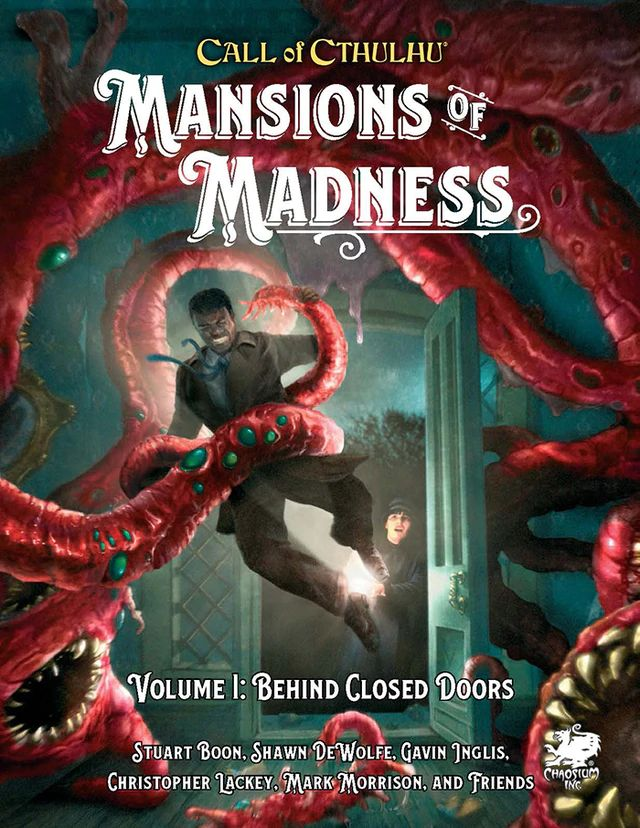 Mansions of Madness: Vol 1 - Behind Closed Doors (HC) - (Englisch)