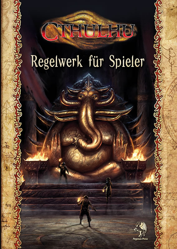 Cthulhu Regelwerk für Spieler (HC) - Spieler-Handbuch der 7.Edition