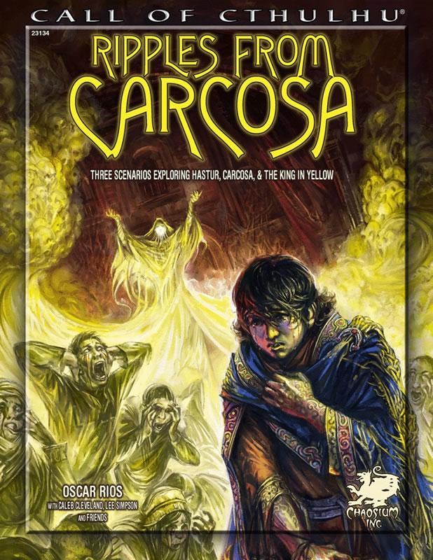 Ripples from Carcosa - Abenteuerband (englisch)