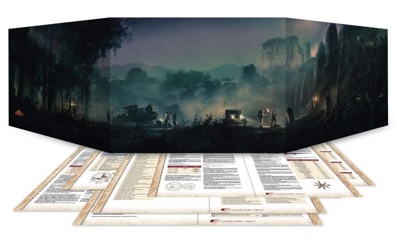 Cthulhu Spielleiter-Sichtschirm (2016)