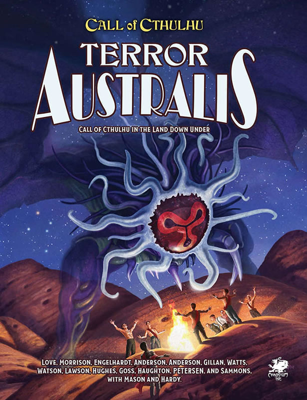 Terror Australis (HC - 2. Edition) - Quellen- & Abenteuerbuch (Englisch)