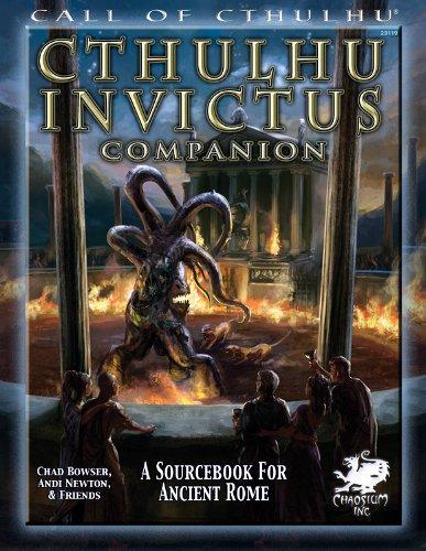Cthulhu Invictus - Abenteuerbuch (englisch)