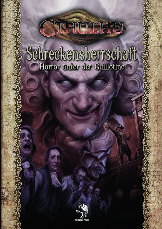 Schreckensherrschaft - Horror unter der Guillotine - Zweiteiliges Szenario mit Quellenteil