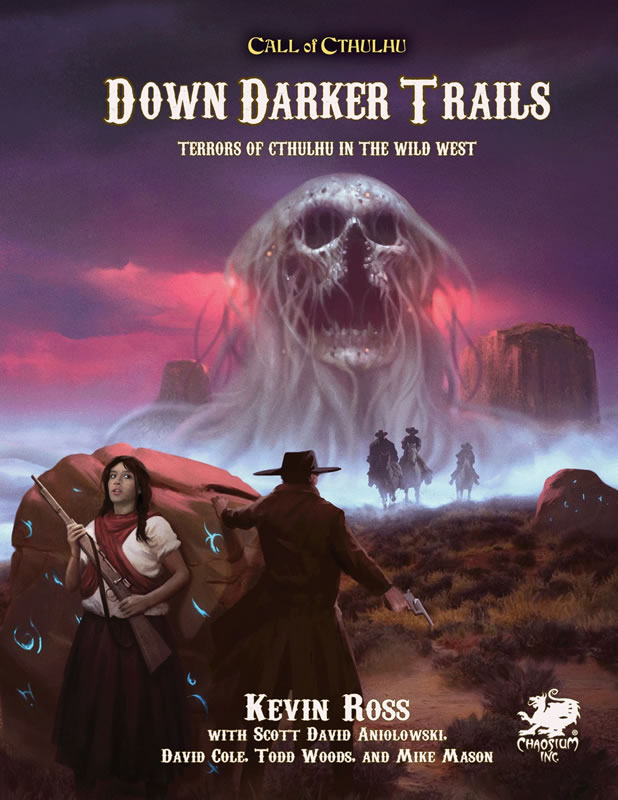 Down Darker Trails (Calll of Cthulhu RPG)