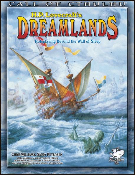 Dreamlands - Beyond the Veil of Sleep - Quellen- & Abenteuerbuch (englisch)
