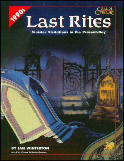 Last Rites - Abenteuerbuch (englisch)