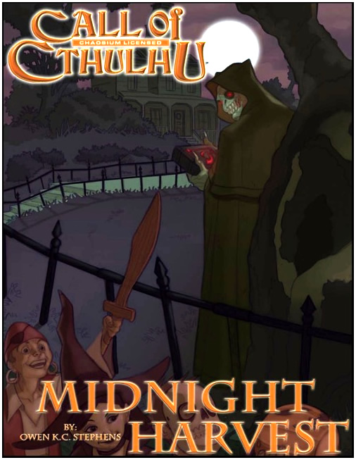 Midnight Harvest - Abenteuerbuch (englisch)