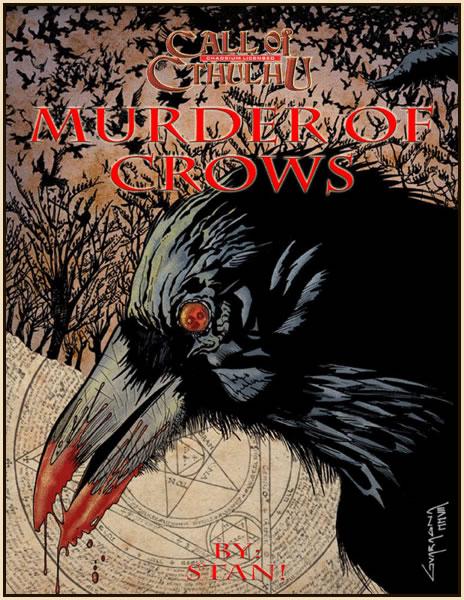Murder of Crows - Abenteuerbuch (englisch)