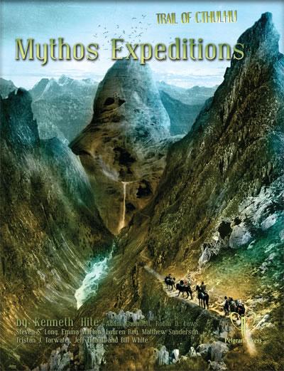 Mythos Expeditions - Abenteuerbuch (englisch)