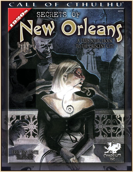 Secrets of New Orleans - Quellenbuch (englisch)
