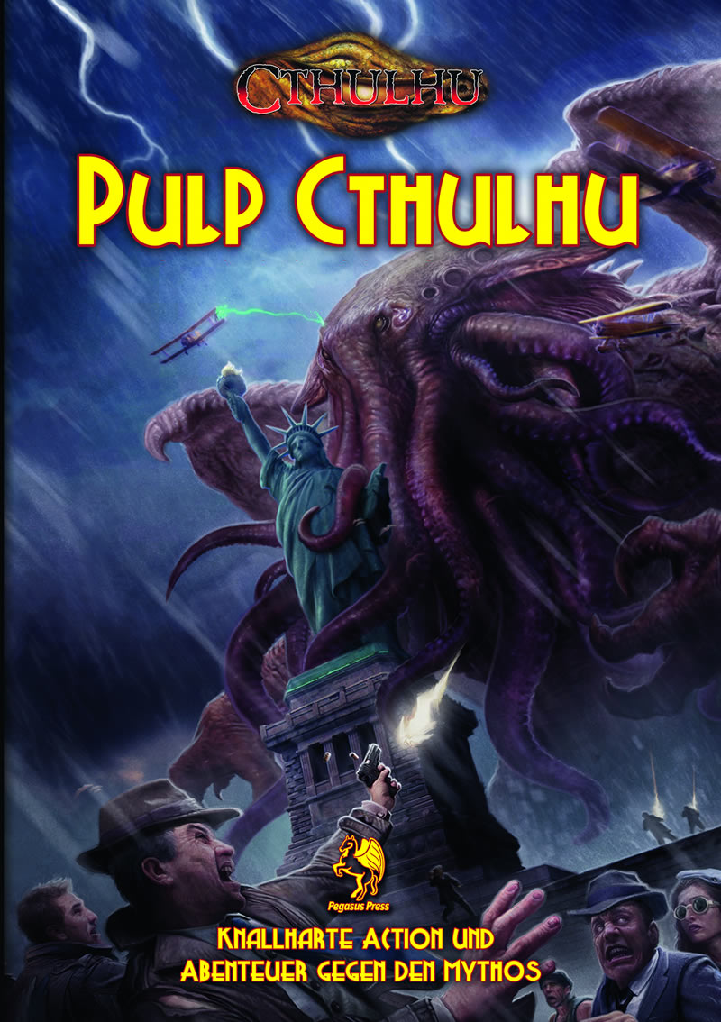 Pulp Cthulhu (HC) - Setting plus 4 Abenteuer