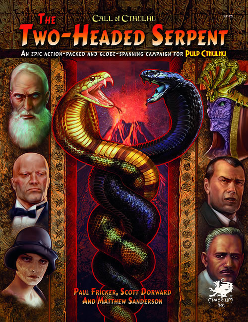 Two Headed Serpent - Kampagne für Pulp Cthulhu (Calll of Cthulhu RPG)