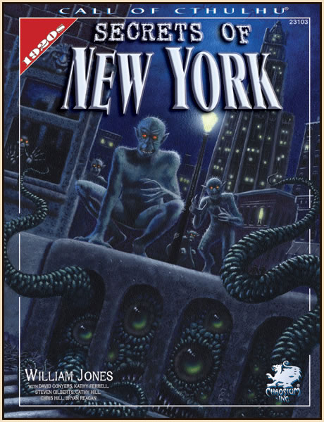 Secrets of New York - Quellenbuch (englisch)