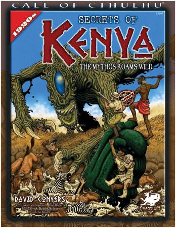 Secrets of Kenya - Quellenbuch (englisch)