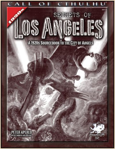 Secrets of Los Angeles - Quellenbuch (englisch)