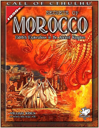 Secrets of Morocco - Quellenbuch und Abenteuerbuch (englisch)