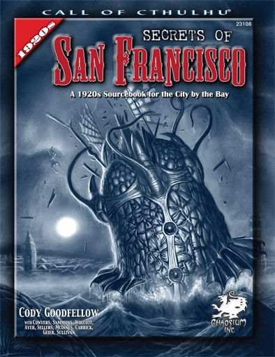 Secrets of San Francisco - Quellenbuch (englisch)