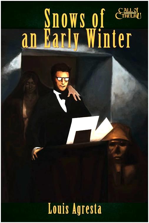 Snows of an early winter - Abenteuerbuch (englisch)