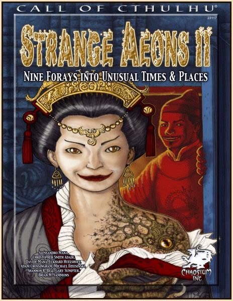 Strange Aeons II - Abenteuerbuch (englisch)