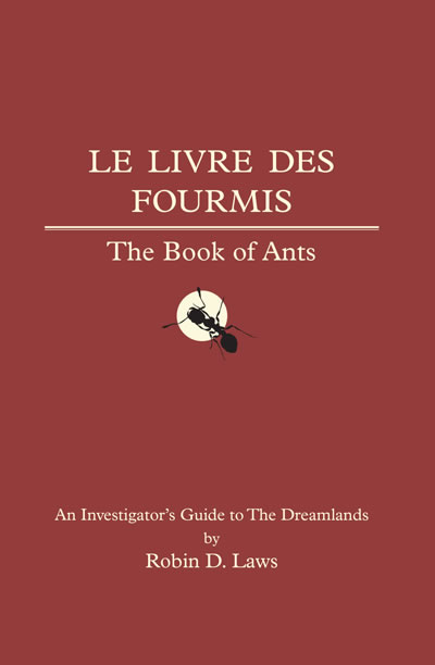 The Book of Ants - Trail of Cthulhu Supplement (englisch)