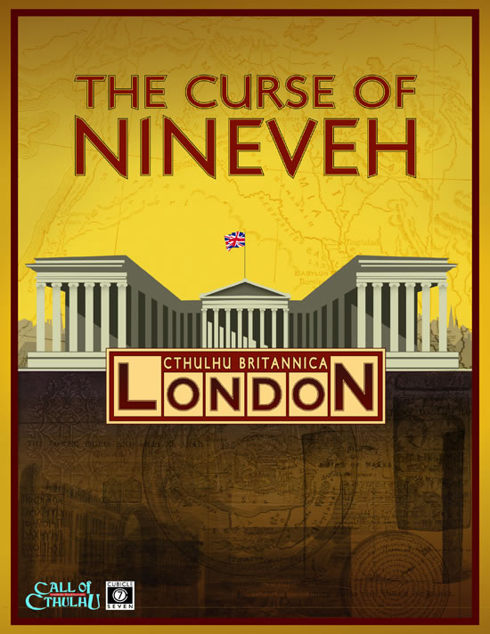 Cthulhu Britannica: The Curse of Nineveh - Kampagne (englisch)