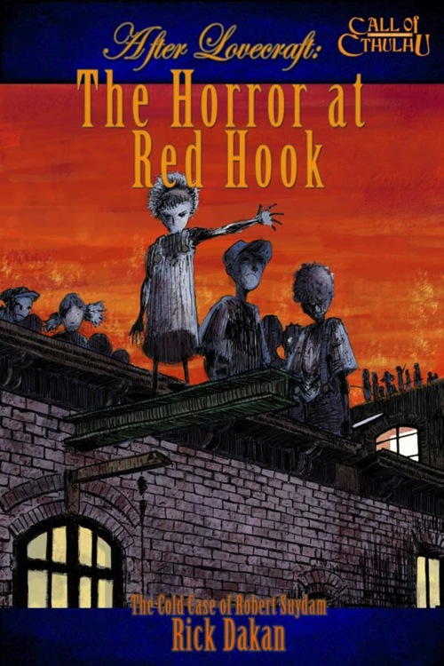 After Lovecraft—The Horror at Red Hook  - Abenteuerbuch (englisch)