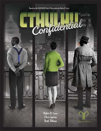Cthulhu Confidential (One-2-One) - Quellen- und Abenteuerband für das Spiel 1 zu 1 (Englisch)
