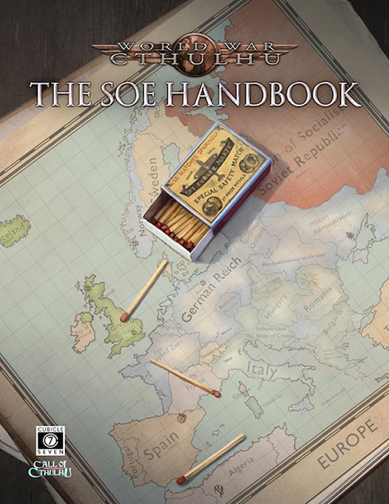 World War Cthulhu: The SOE Handbook (Quellenbuch - englisch)