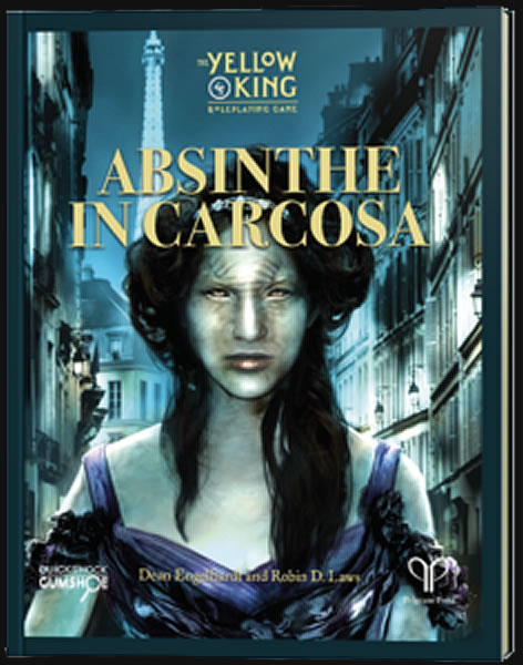 Absinthe In Carcosa (Yellow King RPG - englisch)
