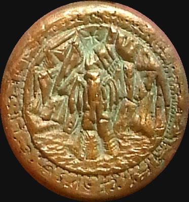 Cthulhu Rising (Relief-Scheibe aus Resin) - Kult-Objekt